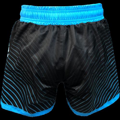 Women's Blue & Black Wave Short