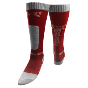 MyHOUSE Deadlift Socks - Red and White