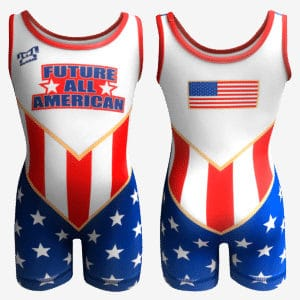 MyCRIB Future All American Singlet