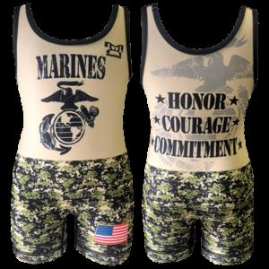 MyCRIB Marines Singlet