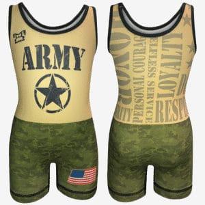 MyCRIB Army Singlet