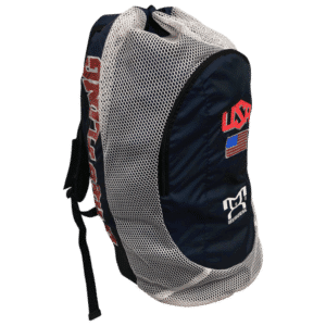 MyHouse Navy USA Gear Bag With Water Bottle Pocket