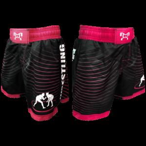 Women's Pink & Black Wave Short