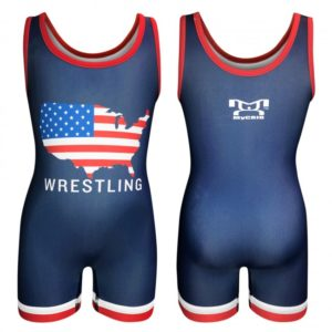MyCRIB United States Wrestling Singlet