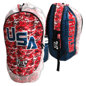 USA RWB Camo - With Water Bottle Pouch