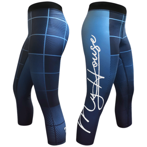 Wavy Plaid Women's Leggings