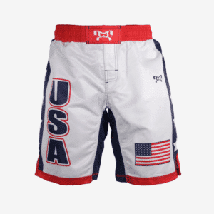 USA white shorts with stars F