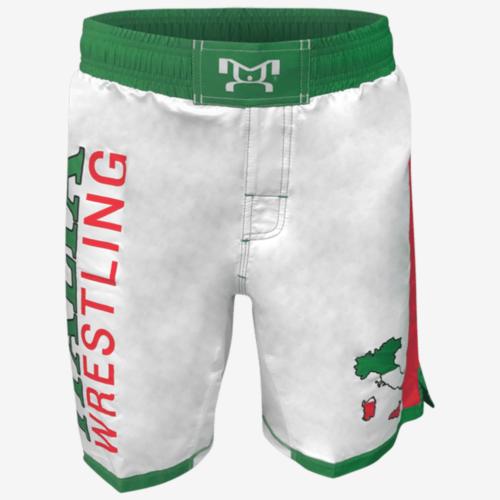 Italia Fully Sublimated Wrestling Shorts