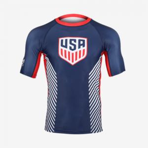 MyHouse USA Navy Compression Shirt