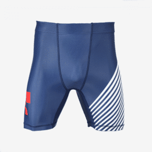 MyHouse USA Navy Red White Compression Shorts