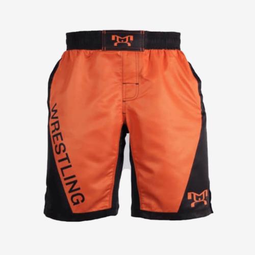 Orange Wrestling Shorts