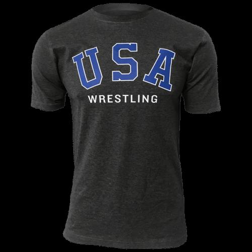 Throwback USA Wrestling T-Shirt
