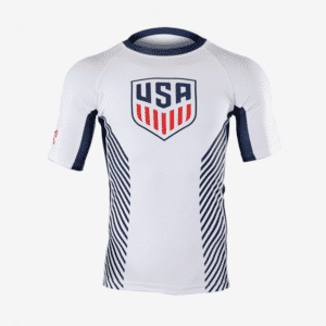 MyHouse USA White Compression Shirt