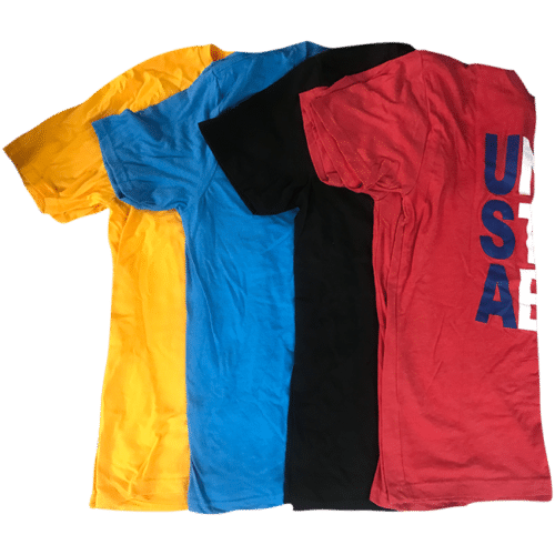 4 For $17 Overruns/Misprints T-Shirt Sale