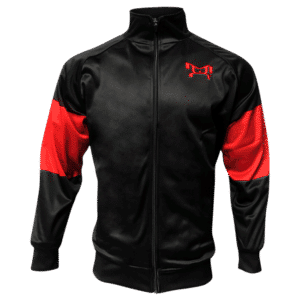 Red and Black Full Zip MyHOUSE Jacket