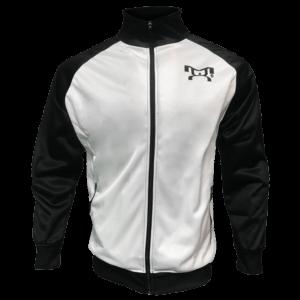 White and Black Full Zip MyHOUSE Jacket