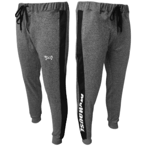 Mens Heathered Box Stripe Joggers