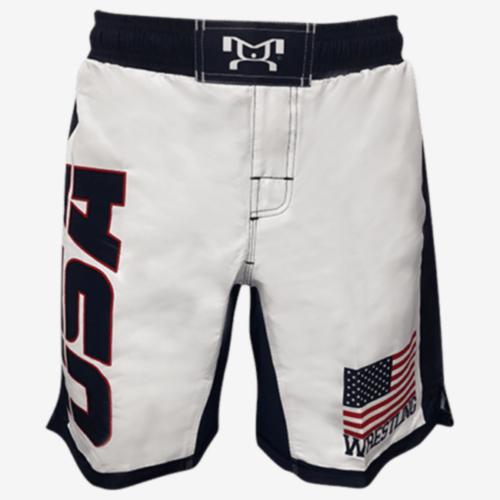 USA Sublimated Fight Shorts