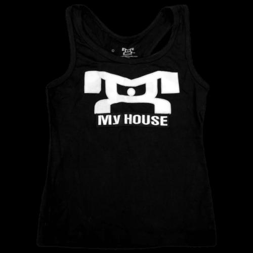 Women's Workout Tank Top - Black