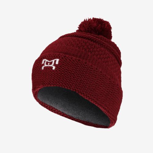 Knit Red Pom Pom R
