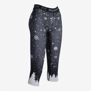Let it Snow Leggings - Black