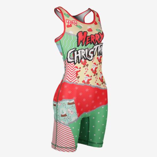 Christmas Let's Tear It Up Singlet