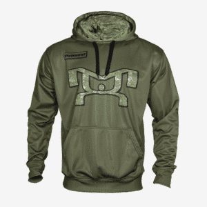 Salute the Troops Hoodie - Olive