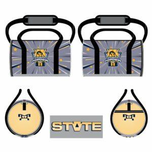 Keystone State Championships Custom Stars Jr Duffel Bag