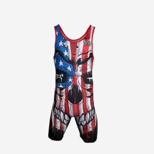 USA Beast Within Singlet - Men's