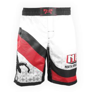 NAWE Sublimated White Fight Shorts
