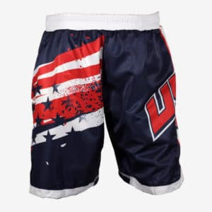 Stars and Stripes Men's Fight Shorts
