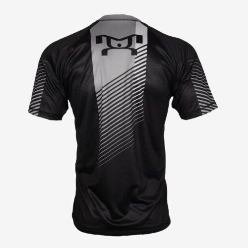 Distressed Black Dri-Fit T-Shirt