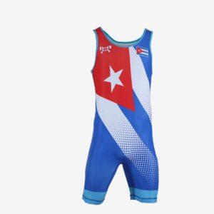 Cuba 2020 Blue Singlet (Pre-Order)