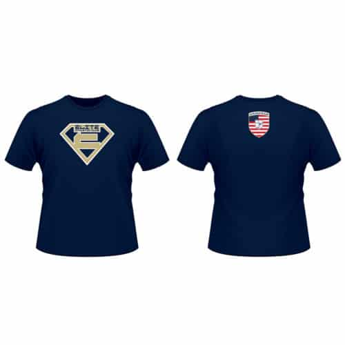 Elite Athletic Club Custom Navy T-Shirt