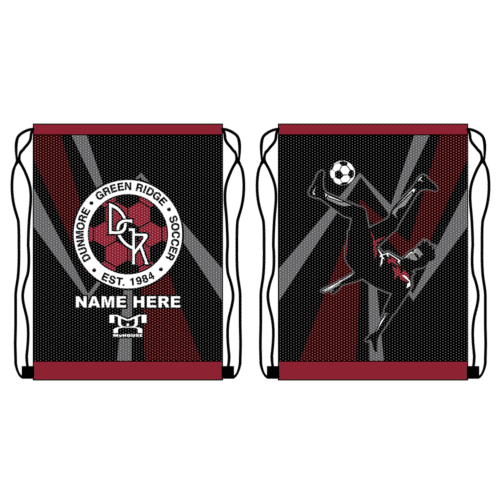 DGR Soccer Custom Boys Sack Pack
