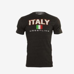 italy wrestling t-shirt
