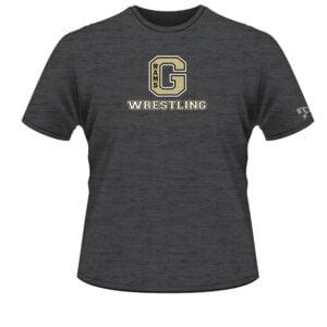 Glenwood Wrestling Grey Custom T-Shirt