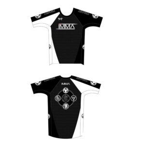 Inochi MMA Men's Black Custom Compression Shirt