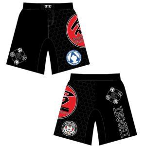 Inochi MMA Red Custom Fight Shorts