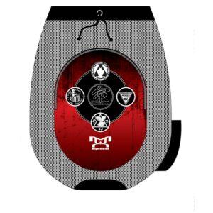 Inochi Custom MMA Sublimated Gear Bag