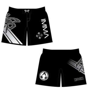Inochi MMA Women's Custom Black Fight Shorts