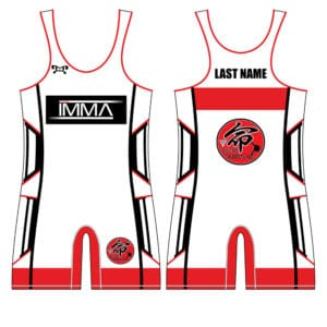Inochi MMA Men's Red Custom Singlet