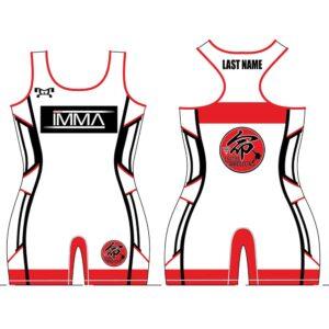 Inochi MMA Women's Red Custom Singlet