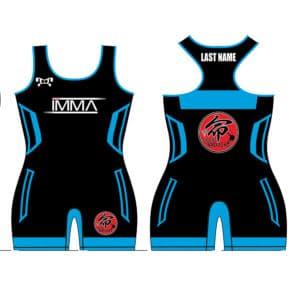 Inochi MMA Women's Blue Custom Singlet