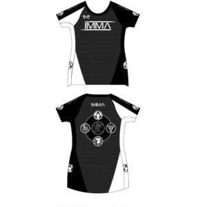 Inochi MMA Women's Black Custom Compression Shirt