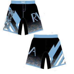 Roundtree Wrestling Academy Custom Fight Shorts
