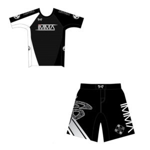 Inochi MMA Mens Custom Black Competition Combo