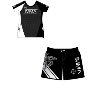 Inochi MMA Women's Custom Black Competition Combo