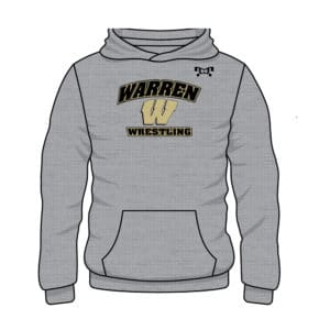 Warren Wrestling Academy Custom MyHOUSE Challenger Hoodie