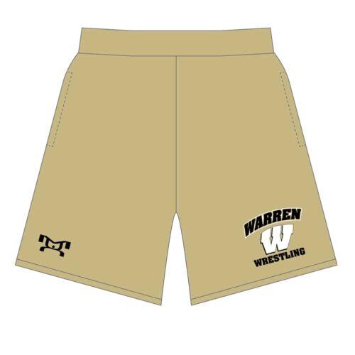 Warren Wrestling Academy Custom Mesh Shorts